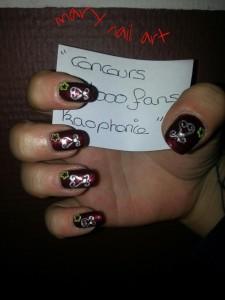 mary nail art