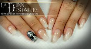 Noces funèbres nail art